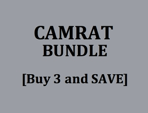 CAMRAT STRAP BUNDLE<BR>ROAD SADDLE MOUNT